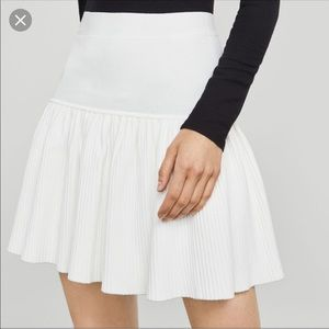 NWT BCBG Cream Valeria Skirt
